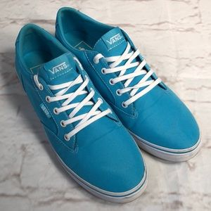 Vans sneakers. Size 9.5.  Aqua Blue